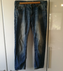 MANGO jeans straight fit kavbojke
