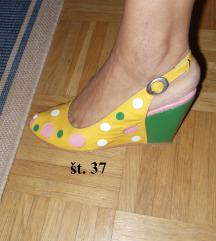 obutev; čevlji pete Salonarji sandali št. 37