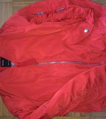 HUDA rdeča Bershka jakna+ darilo