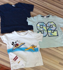 Otroške majice 74