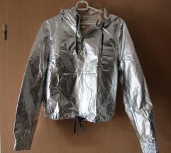 'silver' H&M jaknica (1x nošena; za S/M)