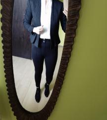 Črn suknjič, kot nov!