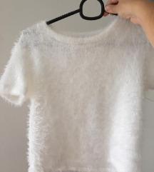 Bela kratka majica