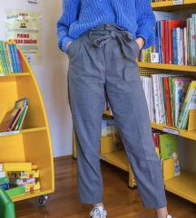 NOVE modre hlače s pentljo