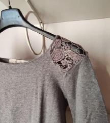Zara fino pleten pulover, kot nov