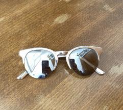 srebrna očala