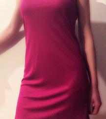 Vijolicna poletna obleka-tunika Liu jo