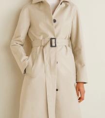 Mango trench coat oversize