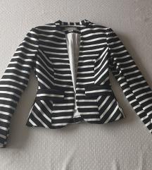H&M črtast blazer