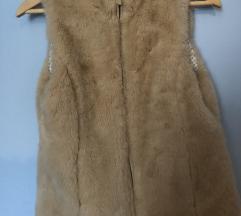 Brezrokavnik faux fur Zara