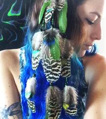 NEON dreamcatcher špangica za lase