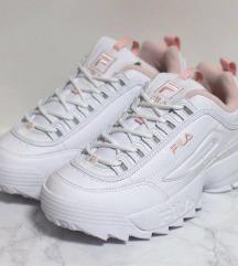 -20€ Fila disrupter white-pink