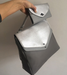 NOVA srebrna torbica