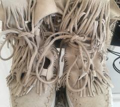 Cevlji L' ESTROSA  usnjeni