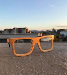 Korekcijska lesena očala
