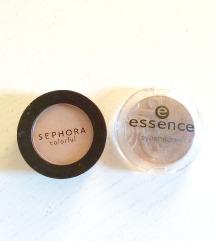 Dve senčki v naravnih tonih: Sephora, Essence