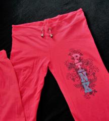 pink trenirka hlače