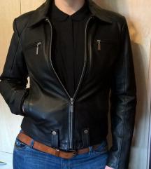 Klasična ženska usnjena jakna