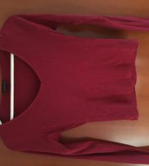 Dolga majica TOPSHOP v-izrez