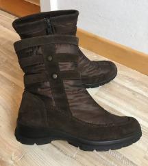 Ženski Goretex škornji, kosmateni, 2x nošeni