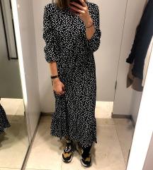 Zara pikčasta obleka