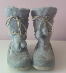 modri z mucko podloženi zimski škornji TBS