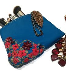 Kozmetična torbica - handmade