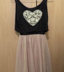 Oblekica večplastna srce