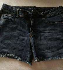 jeans kratke hlače 38