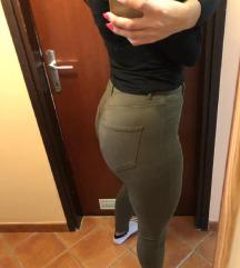 NOVE Olivno zelene hlače
