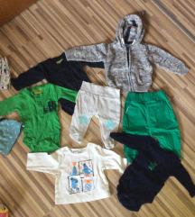 Oblačila za novorojenčka 50, 50/56 in 56