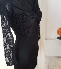 Oprijeta cipkasta obleka