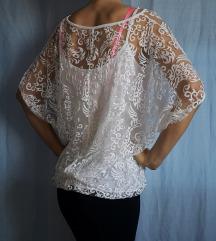 Majica 2v1 bela