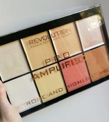 Makeup revolution pro - strobe, highlight paleta