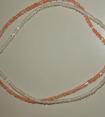 KOMPLET 2 ogrlic  ■nerabljeni ■lahki