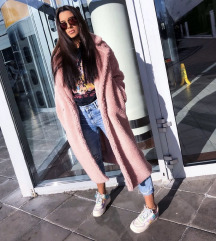 Roza teddy coat