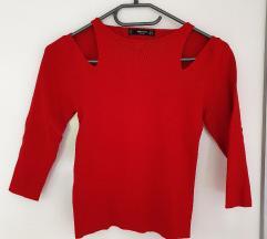 Mango rdeč pulover (PPT vključen)