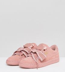Original Puma Pink Suede superge