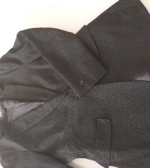 AMATOR suknjič elegance črn potisk