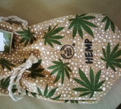 Darilna vrečka iz konoplje