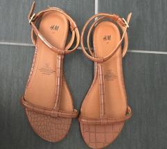Rjavi sandali H&M