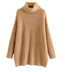 moden nov daljsi pulover