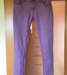 Sivorožnate elastične ženske hlače (38/40)