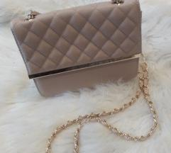 Nude crossbag