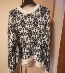 Hm ženski pulover z vzorcem