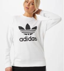 Adidas bela felpa (NOVA, z etiketo) M