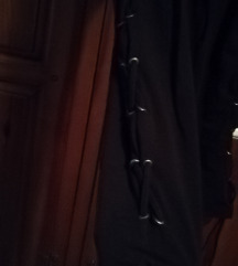 Črne pajkice korzet style