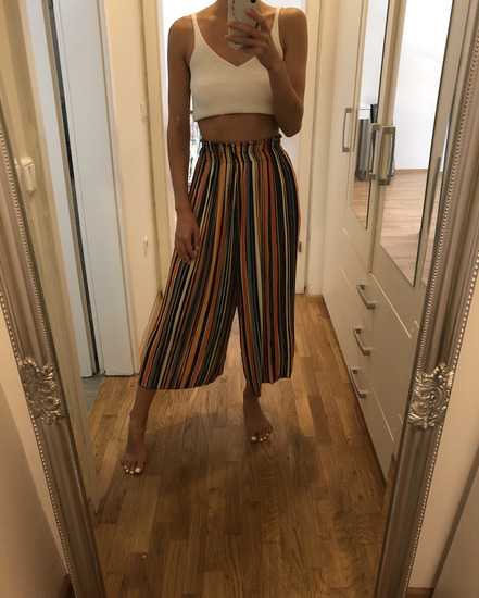 Široke hlače Bershka