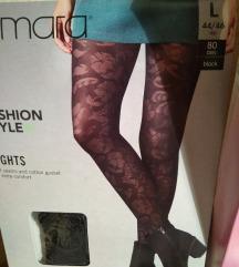 Nove mrežaste, samostoječe nogavice