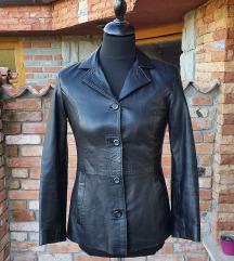VERA PELLE št. 38 / 40 usnjena jakna (Italija)